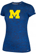 "Michigan Wolverines Women's Adidas NCAA ""School Replica"" Climalite T-shirt"