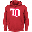 Detroit Red Wings Majestic NHL Vintage Felt Tek Patch Hooded Sweatshirt