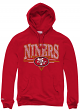 "San Francisco 49ers Mitchell & Ness ""Abstract Vibes"" Pullover Hooded Sweatshirt"