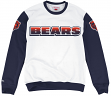 """Chicago Bears Mitchell & Ness NFL """"Stop on a Dime"""" Vintage Crew Sweatshirt"""