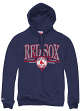 """Boston Red Sox Mitchell & Ness MLB """"Abstract Vibes"""" Pullover Hooded Sweatshirt"""