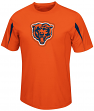 Chicago Bears Majestic NFL Fan Fare VII Performance Shirt - Orange
