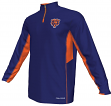 Chicago Bears Majestic NFL Defending Zone 1/4 Zip Performance Shirt
