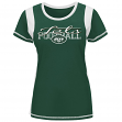 "New York Jets Women's Majestic NFL ""Pride Playing V"" T-shirt"