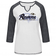 "Baltimore Ravens Women's Majestic NFL ""Victory Is Sweet IV"" 3/4 Sleeve Shirt"