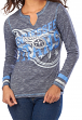 Tennessee Titans Women's Majestic NFL Gameday Gal VI Long Sleeve Shirt