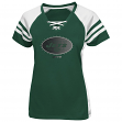 New York Jets Women's Majestic NFL Draft Me VII Jersey Top Shirt - Green