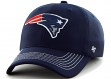 """New England Patriots 47 Brand NFL """"Game Time"""" Navy Stretch Fit Hat"""