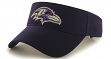 Baltimore Ravens 47 Brand NFL Defiance Adjustable Visor
