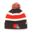 "Cleveland Browns 47 Brand NFL ""Breakaway"" Throwback Cuffed Knit Hat"
