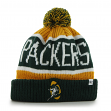 Green Bay Packers 47 Brand NFL Throwback Calgary Cuffed Knit Hat
