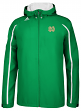 Notre Dame Fighting Irish Adidas Sideline Climaproof Lightweight Jacket - Green