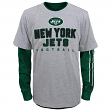 "New York Jets Youth NFL ""Intact"" 3 in 1 T-Shirt Combo Set"