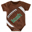 "Notre Dame Fighting Irish Adidas NCAA Infant ""Football"" Creeper"