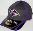 Baltimore Ravens New Era 39THIRTY 2014 Official Training Flex Fit Hat - Graphite
