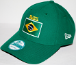 Brazil Brasil New Era 9Forty Adjustable Hat - Green