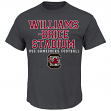 "South Carolina Gamecocks Majestic NCAA ""Big Game Best"" Men's Charcoal T-Shirt"