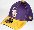 LSU Tigers New Era NCAA 39THIRTY Neo Fitted Hat - 2 Tone