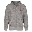 "Baltimore Orioles Majestic MLB ""AC Clubhouse"" On-Field Hooded Sweatshirt"