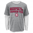 "Alabama Crimson Tide NCAA ""Respect"" 3 in 1 Men's T-Shirt Combo"