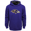 "Baltimore Ravens Youth NFL ""Primary"" Pullover Hooded Sweatshirt"