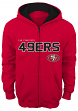 "San Francisco 49ers Youth NFL ""Stated"" Full Zip Hooded Sweatshirt"