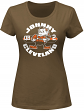 Johnny Manziel Cleveland Browns Women's Majestic NFL Johnny Cleveland T-Shirt