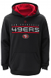 "San Francisco 49ers Youth NFL ""Reflect"" Pullover Hooded Performance Sweatshirt"