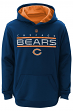 "Chicago Bears Youth NFL ""Reflect"" Pullover Hooded Performance Sweatshirt"