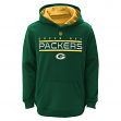 """Green Bay Packers Youth NFL """"Reflect"""" Pullover Hooded Performance Sweatshirt"""