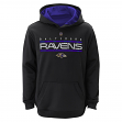 "Baltimore Ravens Youth NFL ""Reflect"" Pullover Hooded Performance Sweatshirt"