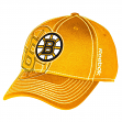 Boston Bruins Reebok NHL Draft Spin Structured Flex Hat - Yellow