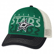 Dallas Stars Reebok NHL Garment Washed Slouch Adjustable Mesh Back Hat