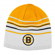 Boston Bruins CCM Throwback NHL Cuffless Reversible Knit Hat