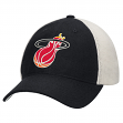 Miami Heat Mitchell & Ness NBA Throwback Mesh Back Slouch Adjustable Hat