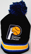 "Indiana Pacers Mitchell & Ness NBA ""Blackout"" Cuffed Knit Hat w/ Pom"