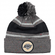 Los Angeles Kings Mitchell & Ness NHL Vintage Speckled Cuffed Knit Hat w/ Pom