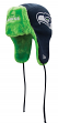 Seattle Seahawks New Era NFL Helmet Head Knit Trooper Hat