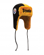 Pittsburgh Steelers New Era NFL Helmet Head Knit Trooper Hat