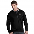 South Carolina Gamecocks Antiqua Leader 1/4 Zip Performance Sweatshirt - Black