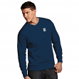 Detroit Tigers Antiqua MLB Executive Crew Premium Sweatshirt - Navy