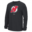 New Jersey Devils Reebok NHL Jersey Crest Long Sleeve Men's T-Shirt
