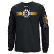 "Boston Bruins Reebok NHL ""Blinder"" Long Sleeve Men's T-Shirt"