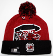 South Carolina Gamecocks New Era NCAA Woven Biggie 2 Cuffed Knit Hat
