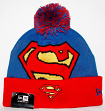 Superman New Era Woven Biggie 2 Cuffed Knit Hat