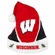 Wisconsin Badgers 2014 NCAA Color Block Santa Hat