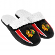 Chicago Blackhawks NHL 2013 Men's Sherpa Slide Slippers