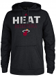 "Miami Heat Adidas 2014 NBA ""Beta Rays"" Hooded Sweatshirt - Black"