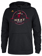 "Miami Heat Adidas 2014 NBA ""Ultimate Banner"" Hooded Sweatshirt - Black"