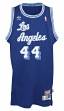 Jerry West Los Angeles Lakers Adidas NBA Throwback Swingman Jersey - Blue